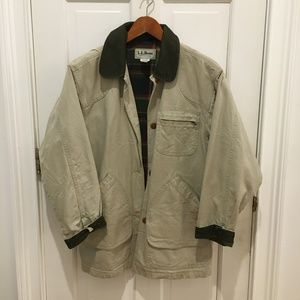 VTG LL Bean Barn Coat Chore Jacket Womens Medium